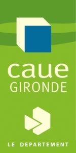 Logo du Conseil d'Architecture, d'Urbanisme et de l'Environnement (CAUE) de la Gironde