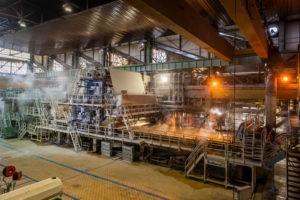 La Machine à Papier n°5 à l'usine SMURFIT KAPPA de Biganos