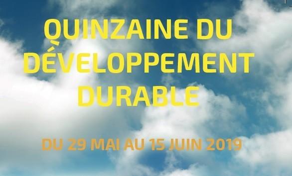 Image Quinzaine du Développement Durable à Marcheprime du 29 mai au 15 juin 2019