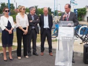 La COBAN mène une expérimentation de location de vélos à assistance électrique en libre-service
