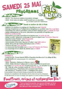 Programme 1ère Fête de la Nature à Mios - 25 mai 2019