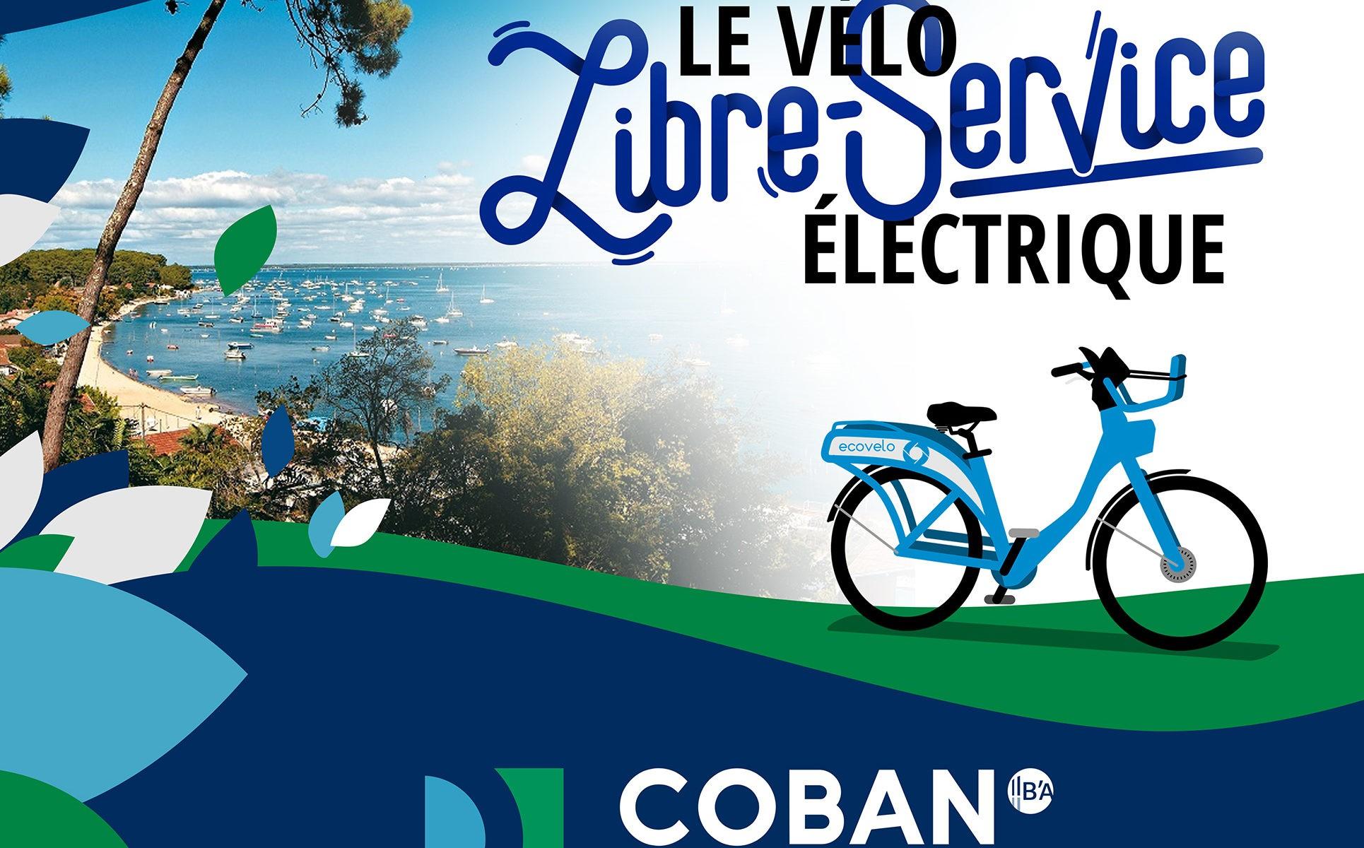 ECOVELO, le vélo électrique en libre-service de la COBAN