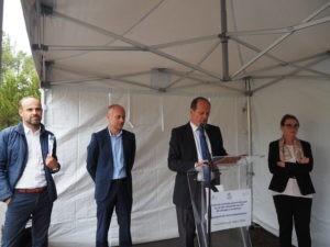 Projet de centrale photovoltaïque à Audenge : signature du bail emphytéotique le 14 juin
