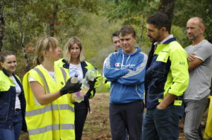 Participation de la COBAN au World Clean Up Day de Smurfit Kappa