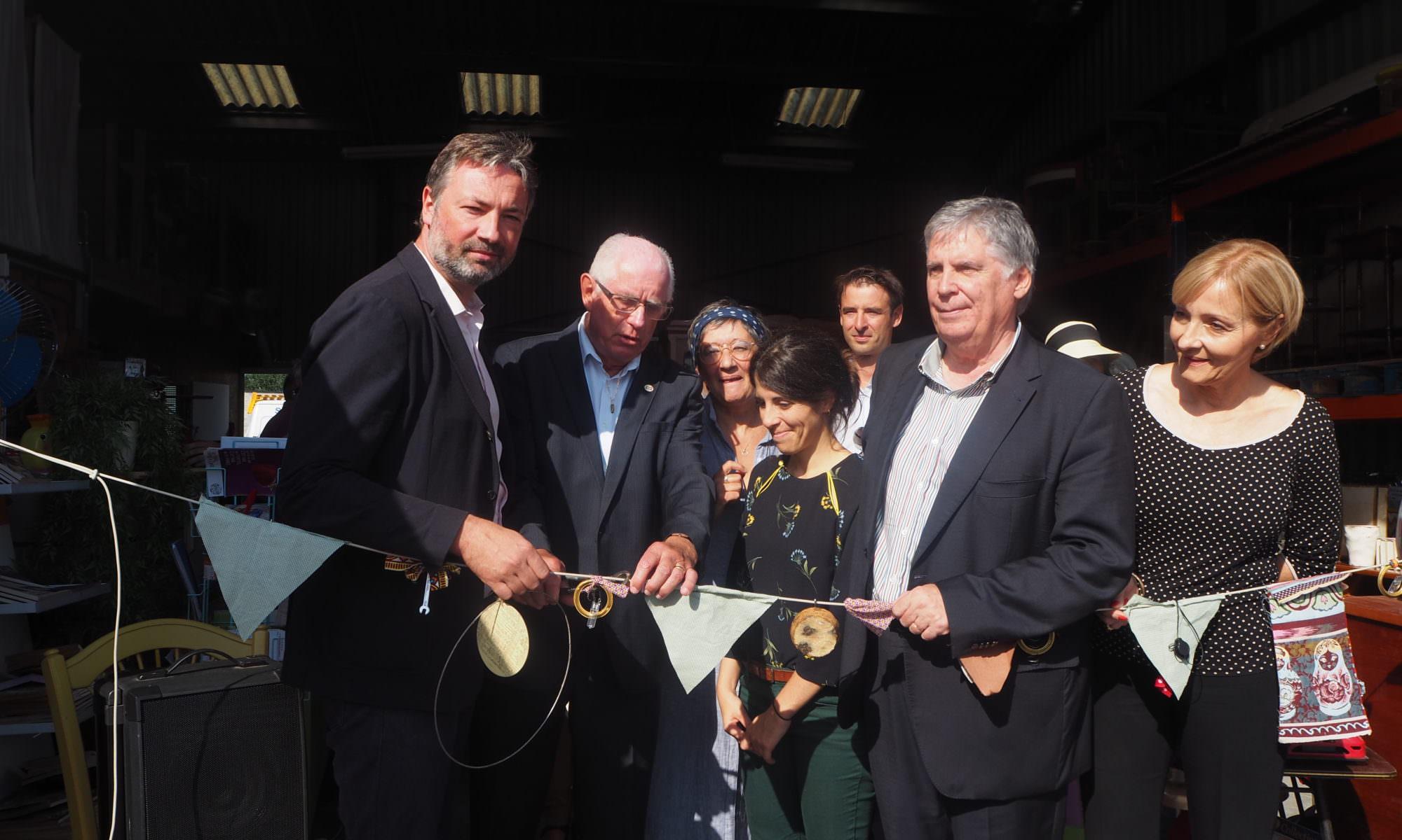 La Recyclerie ATENOBA inaugurée