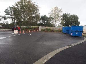 La plateforme de déchets verts inaugurée