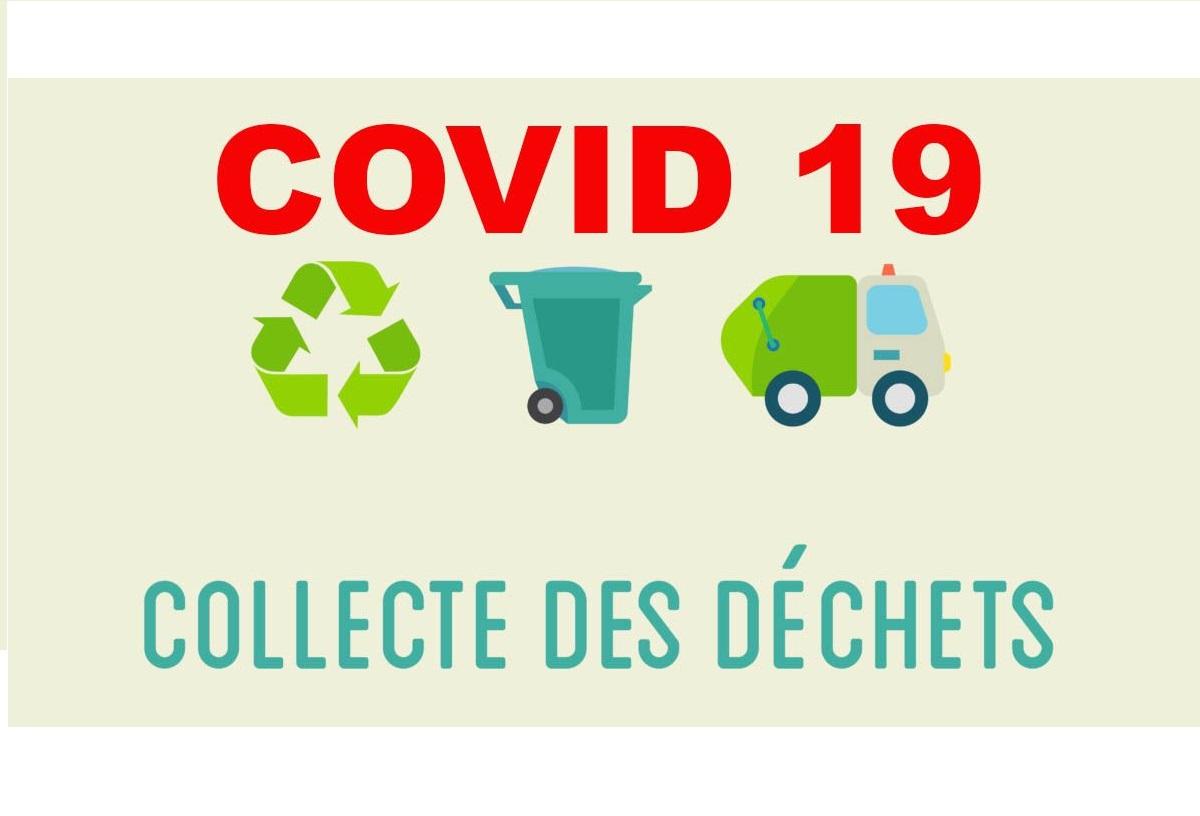 COVID-19 - Collectes et gestion des déchets - 24 mars 2020