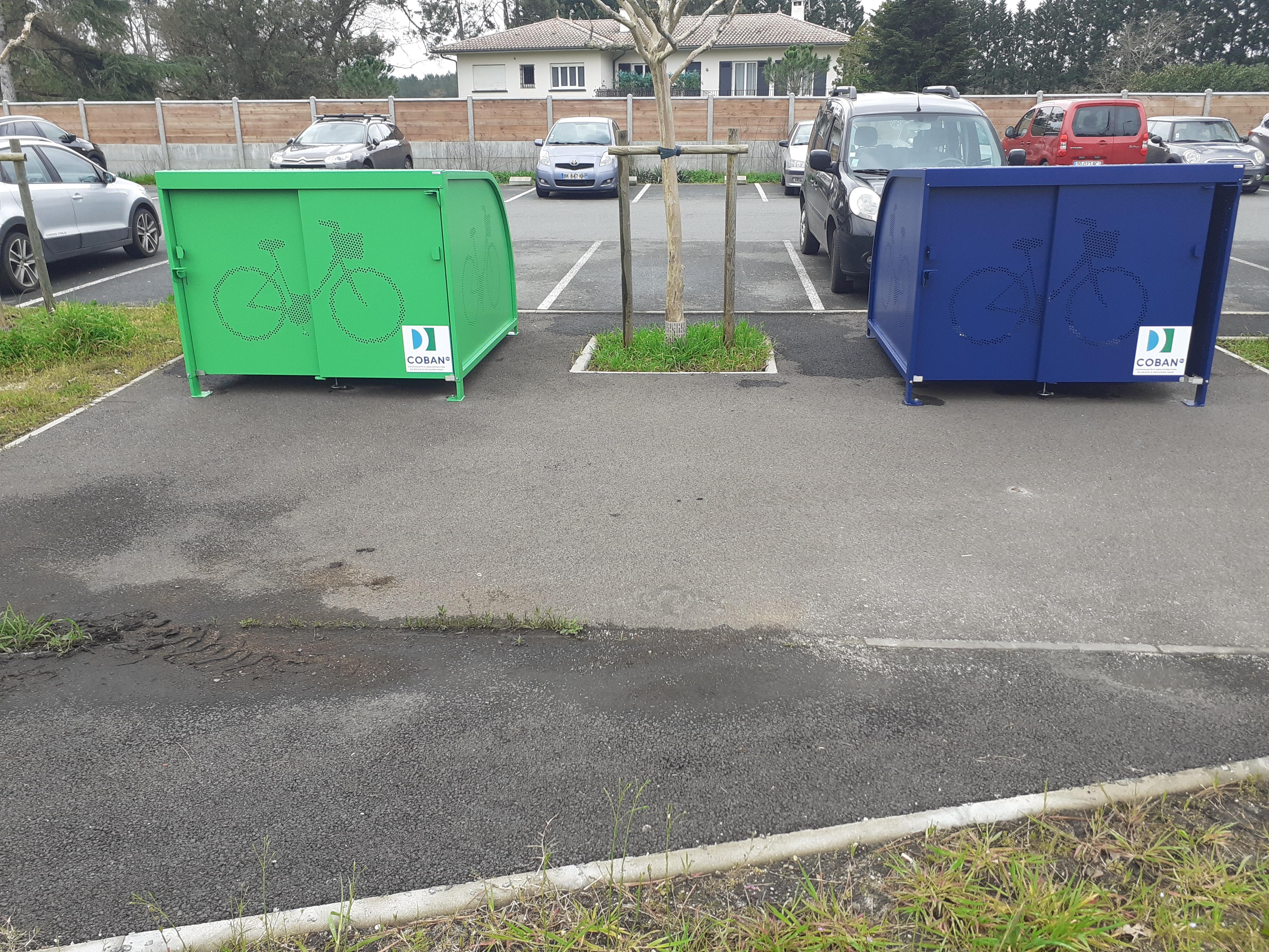 Abris-vélos sécurisés à Mios A660