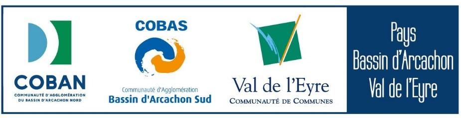 Logos COBAN COBAS CdC Val de l'Eyre Pays BARVAL