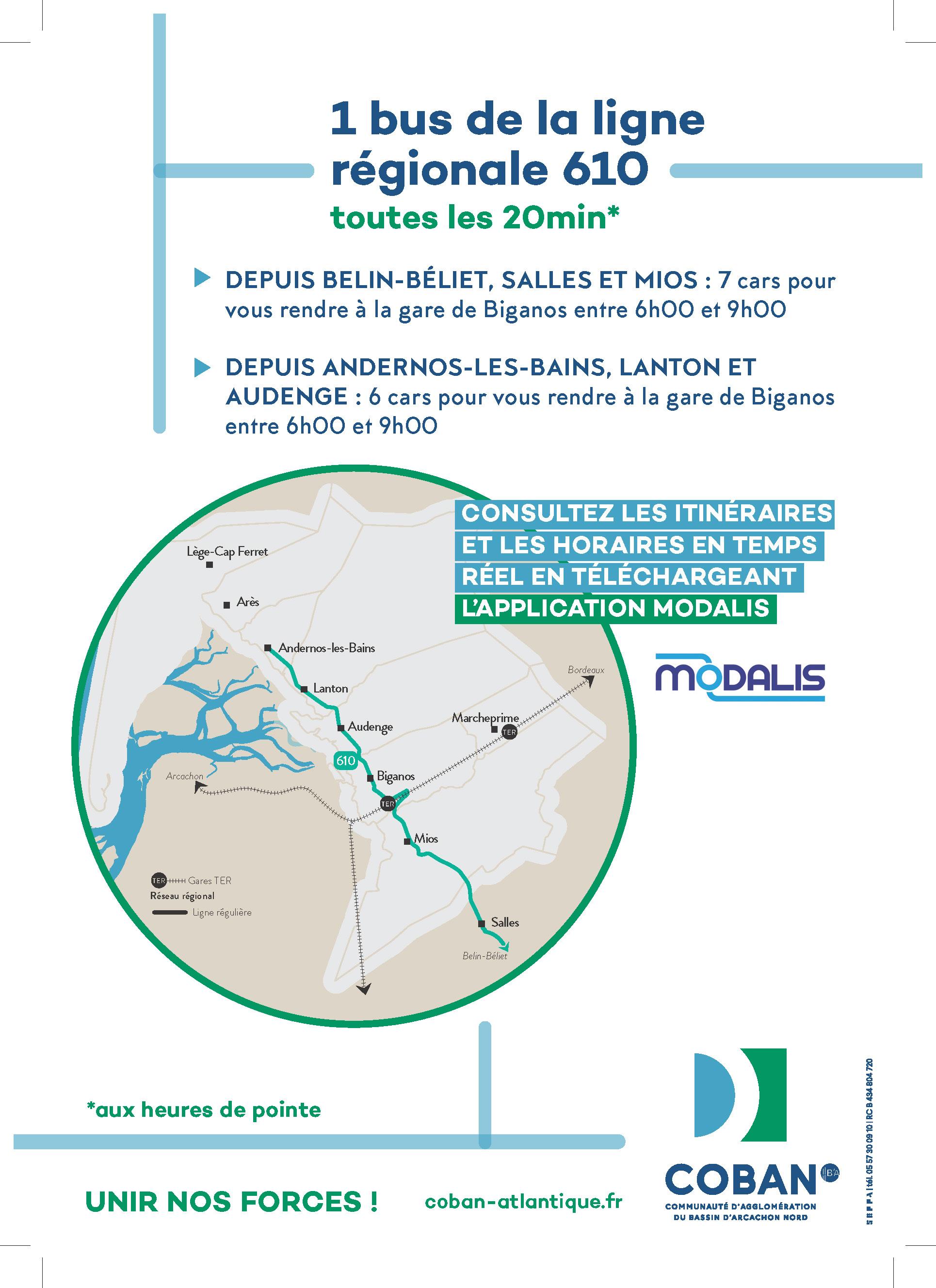 Campagne Transport Septembre 2020 - Ligne 610 - p2