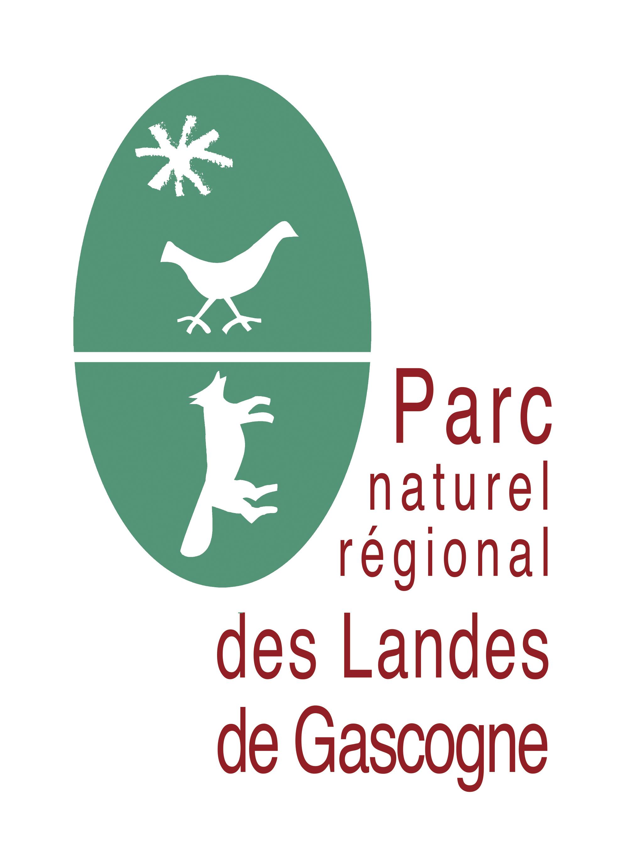 Logo du PNRLG Parc Naturel Régional des Landes de Gascogne