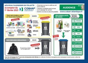 Visuel calendrier de collecte 2021