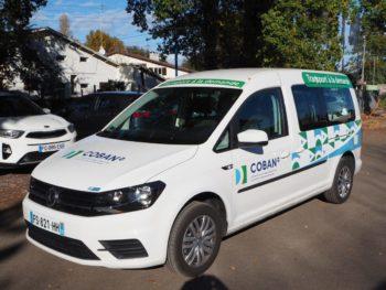 Transport à la demande TAD COBAN - Véhicule Caddy - Novembre 2020