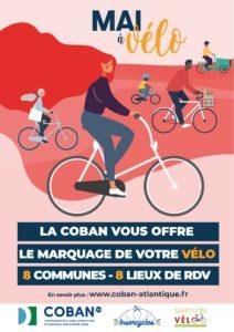 Mai à vélo à la COBAN - du 18 mai au 2 juin 2021