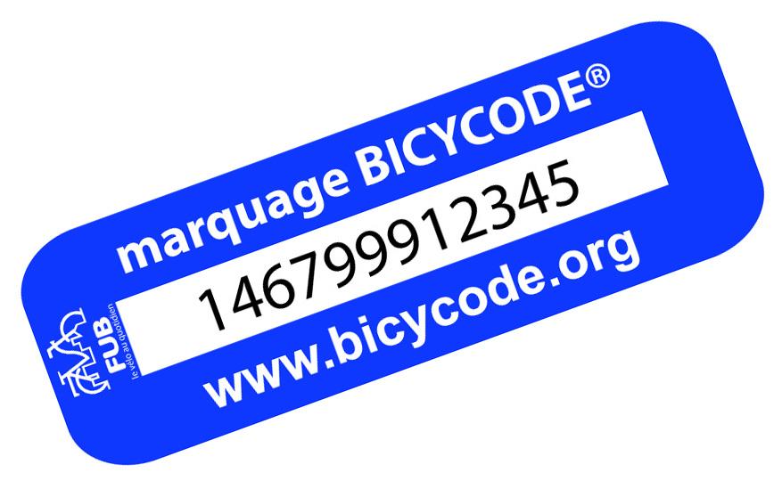 Marquage BICYCODE