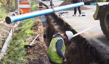 Renouvellement des conduites d'eau potable