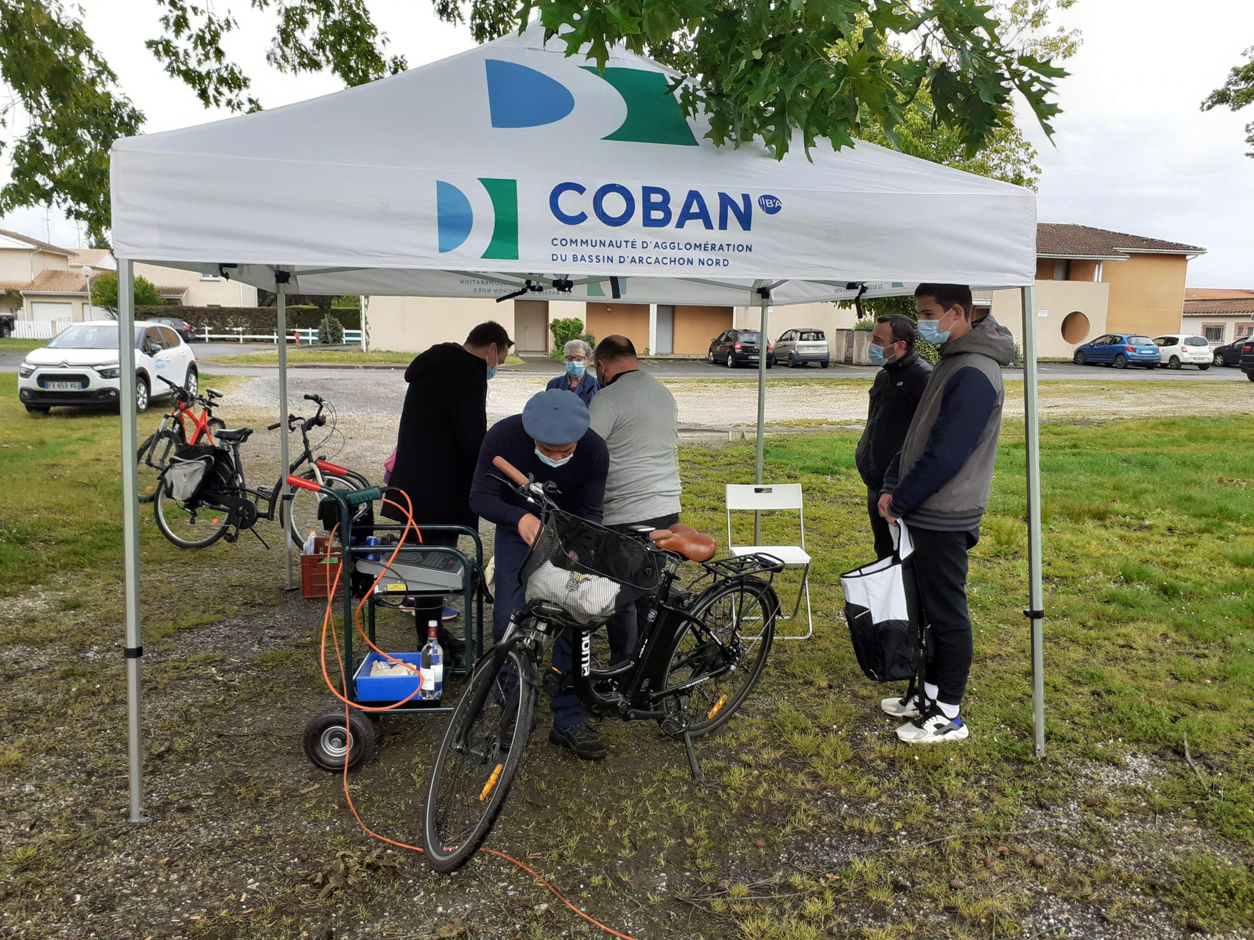 Opération Marquage Vélo offert par la COBAN
