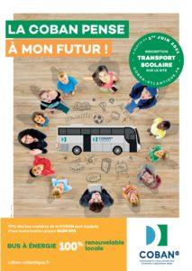 Le transport scolaire de la COBAN 2021-2022 : la COBAN pense à mon futur !