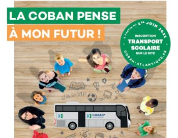 Actu Le transport scolaire de la COBAN 2021-2022 : la COBAN pense à mon futur !