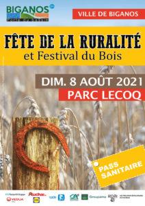 Fête de la Ruralité et Festival du Bois à Biganos - 8 août 2021